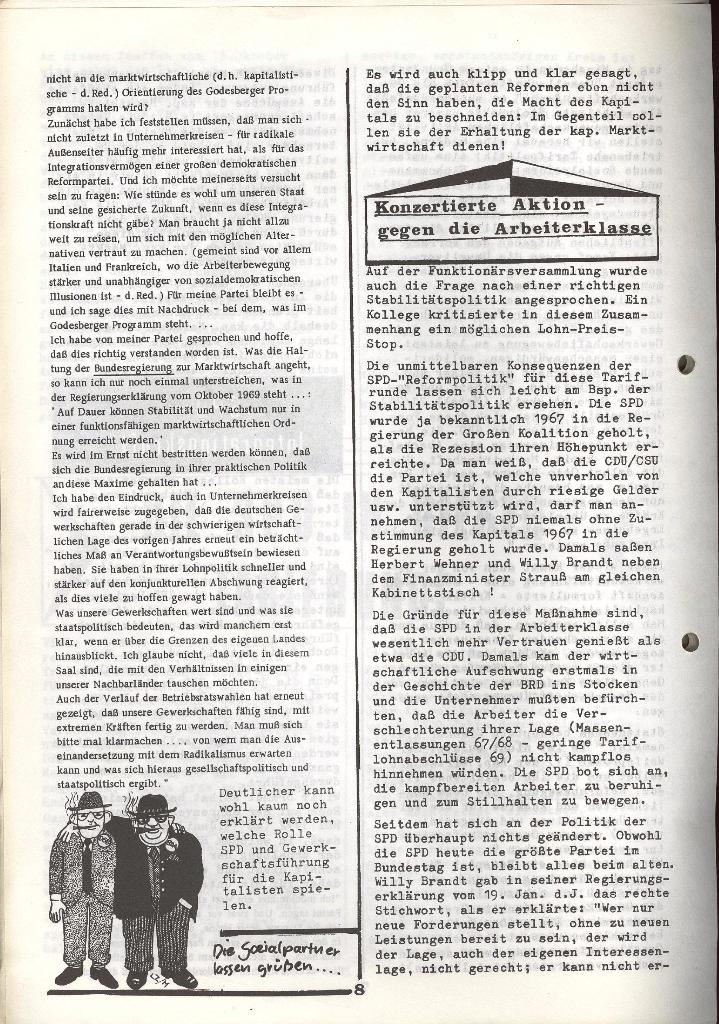 Der Metallarbeiter _ Zeitung des KB/ML, Jg. 3, Nr. 8, Dezember 1973, Seite 8