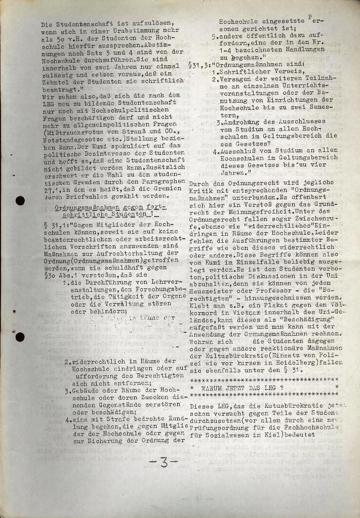 Schüler_Zeitung des KSB Lübeck, Nr. 5 (1973), Seite 3