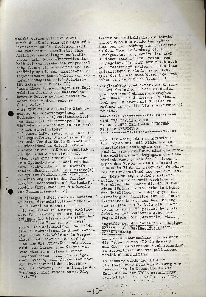 Schüler_Zeitung des KSB Lübeck, Nr. 5 (1973), Seite 15