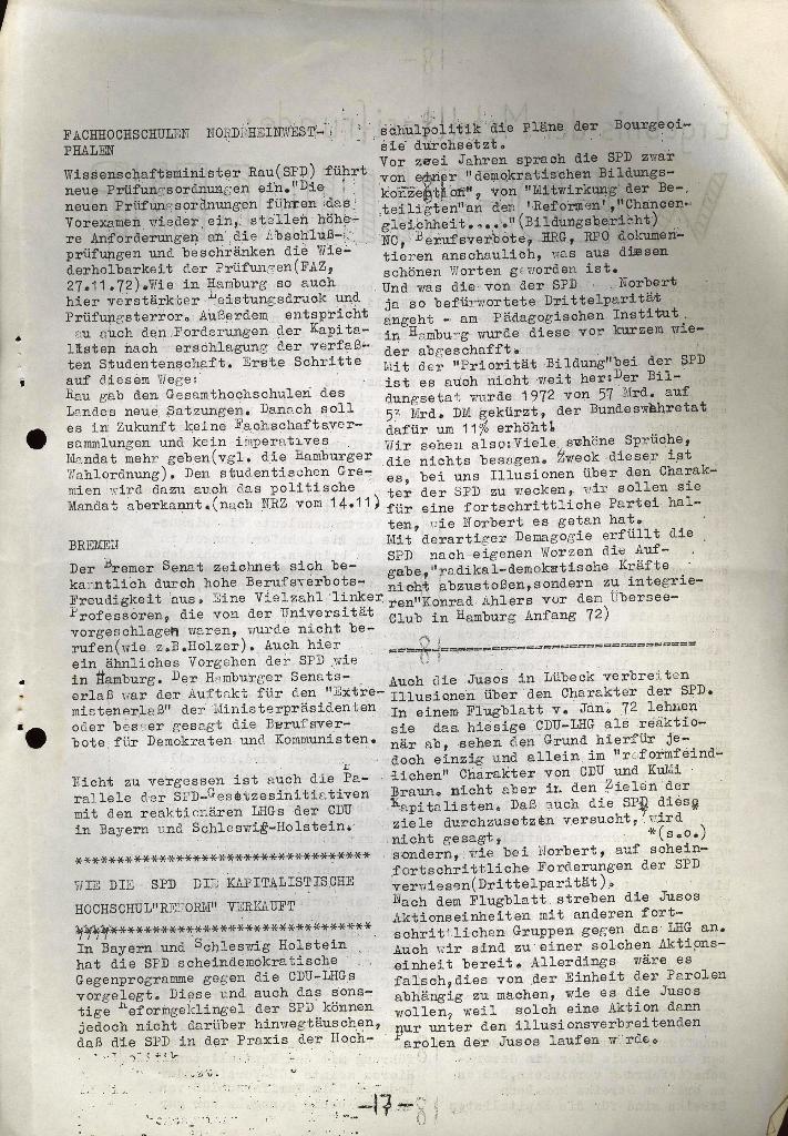 Schüler_Zeitung des KSB Lübeck, Nr. 5 (1973), Seite 17