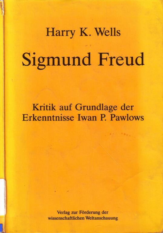 Harry K. Wells. Sigmund Freud
