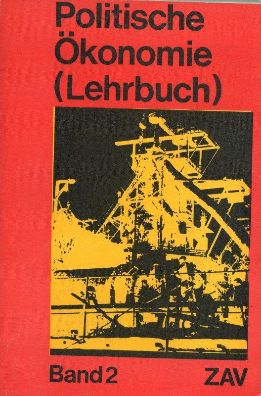Titelseite: Politische Ökonomie, Band 2