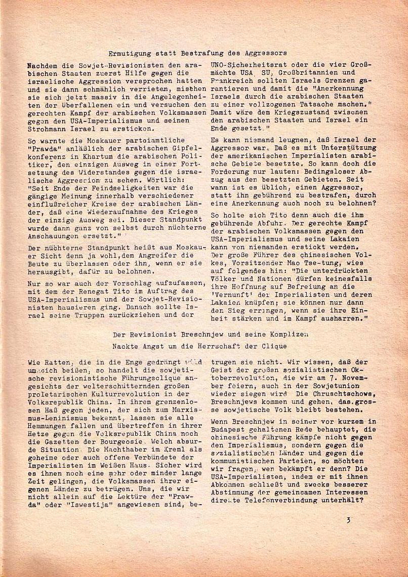 Roter Morgen, 1. Jg., Nr. 3/4, Sept./Okt. 1967, Seite 3