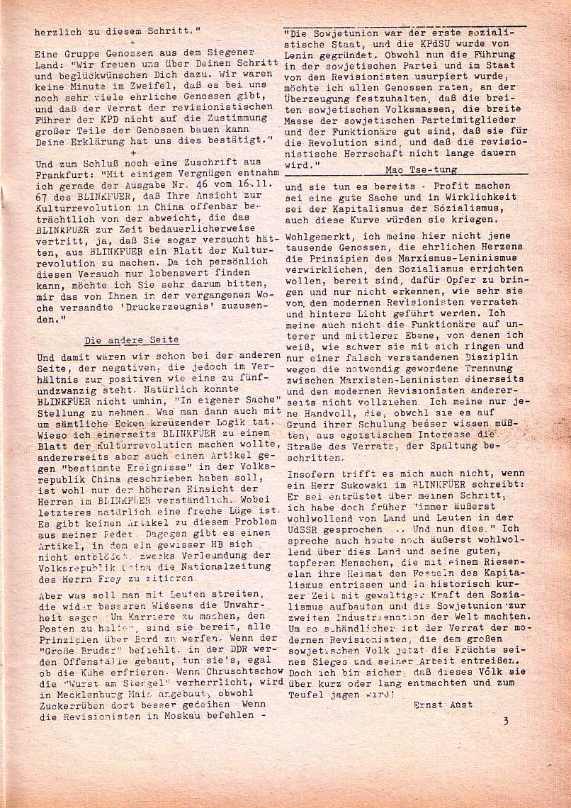 Roter Morgen, 1. Jg., Dez. 1967, Seite 3