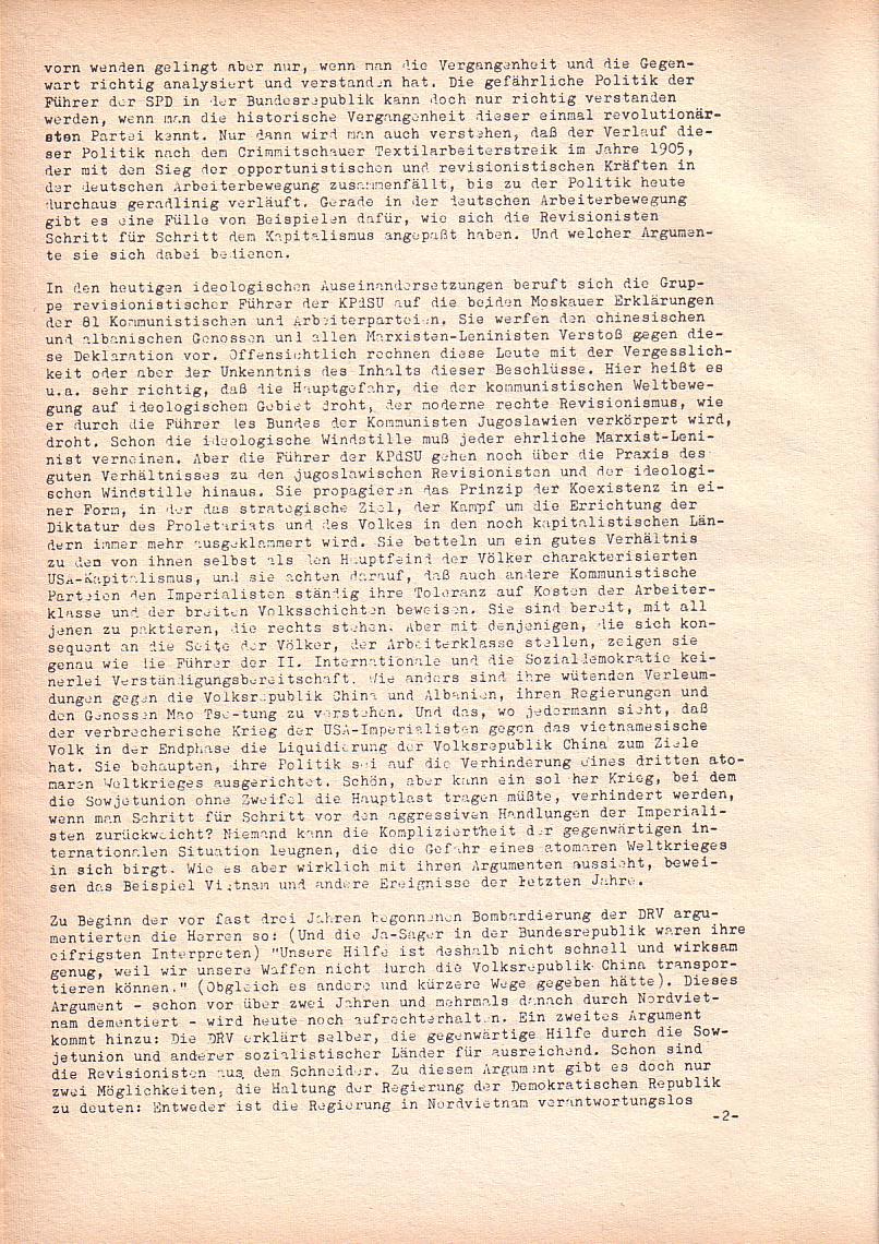 Roter Morgen, 2. Jg., Jan. 1968, Seite 12