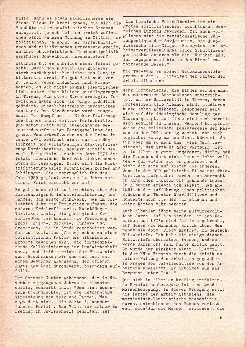 Roter Morgen, 2. Jg., März 1968, Seite 6