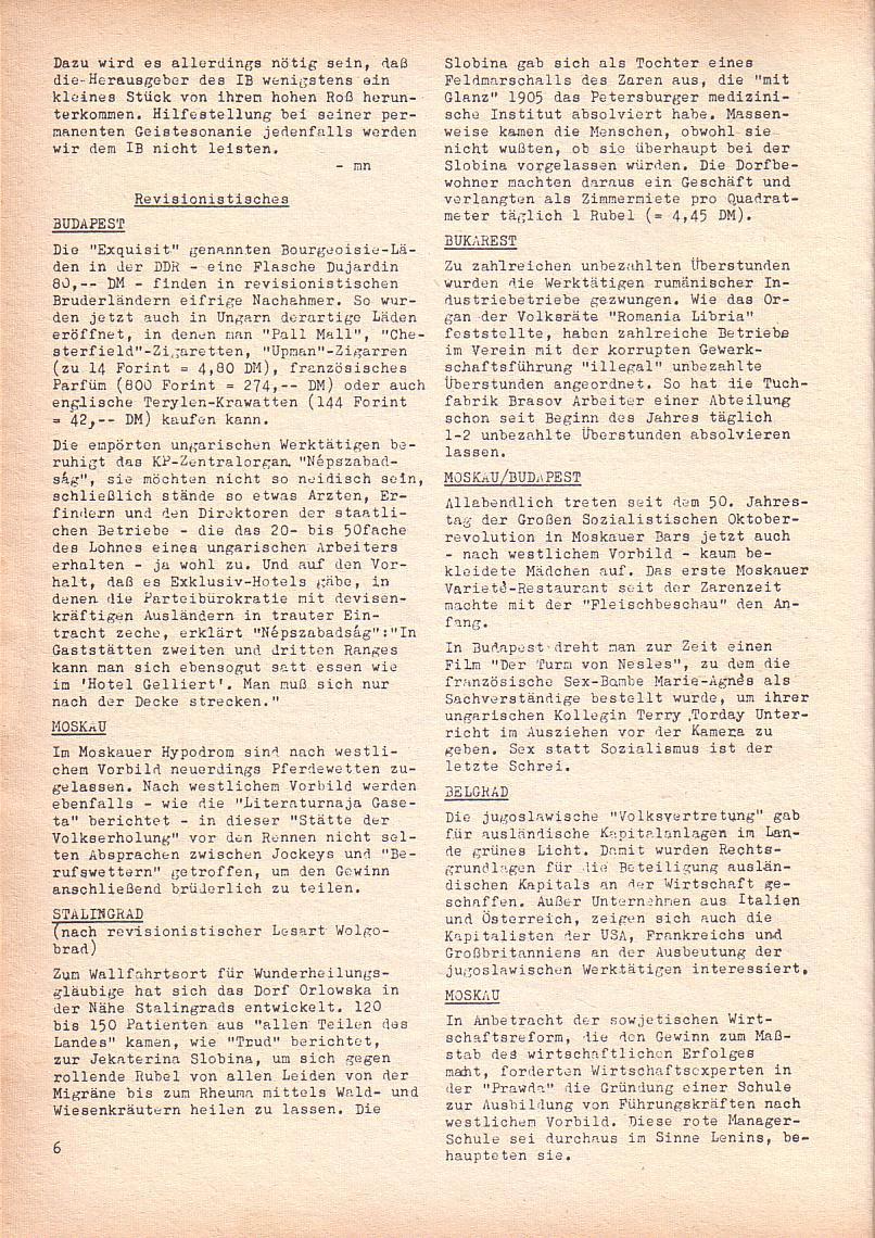 Roter Morgen, 2. Jg., Juni 1968, Seite 6