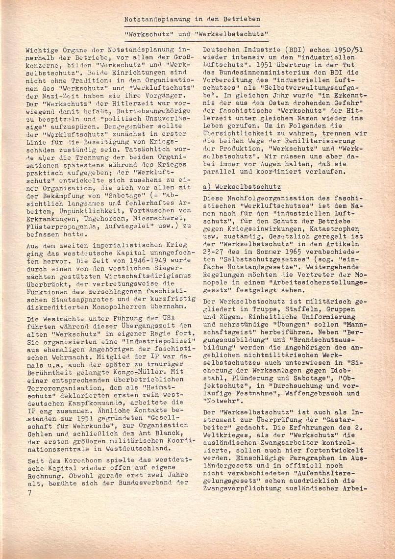 Roter Morgen, 2. Jg., Juni 1968, Seite 7