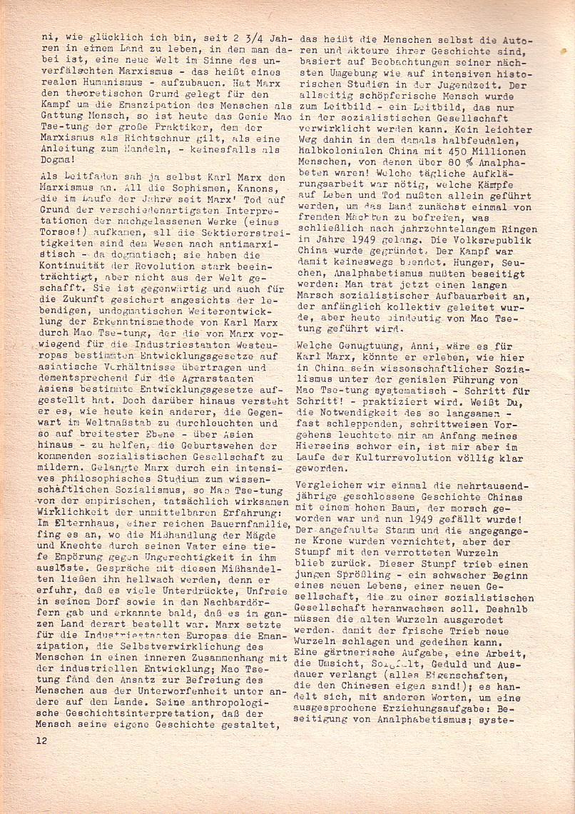 Roter Morgen, 2. Jg., Juni 1968, Seite 12