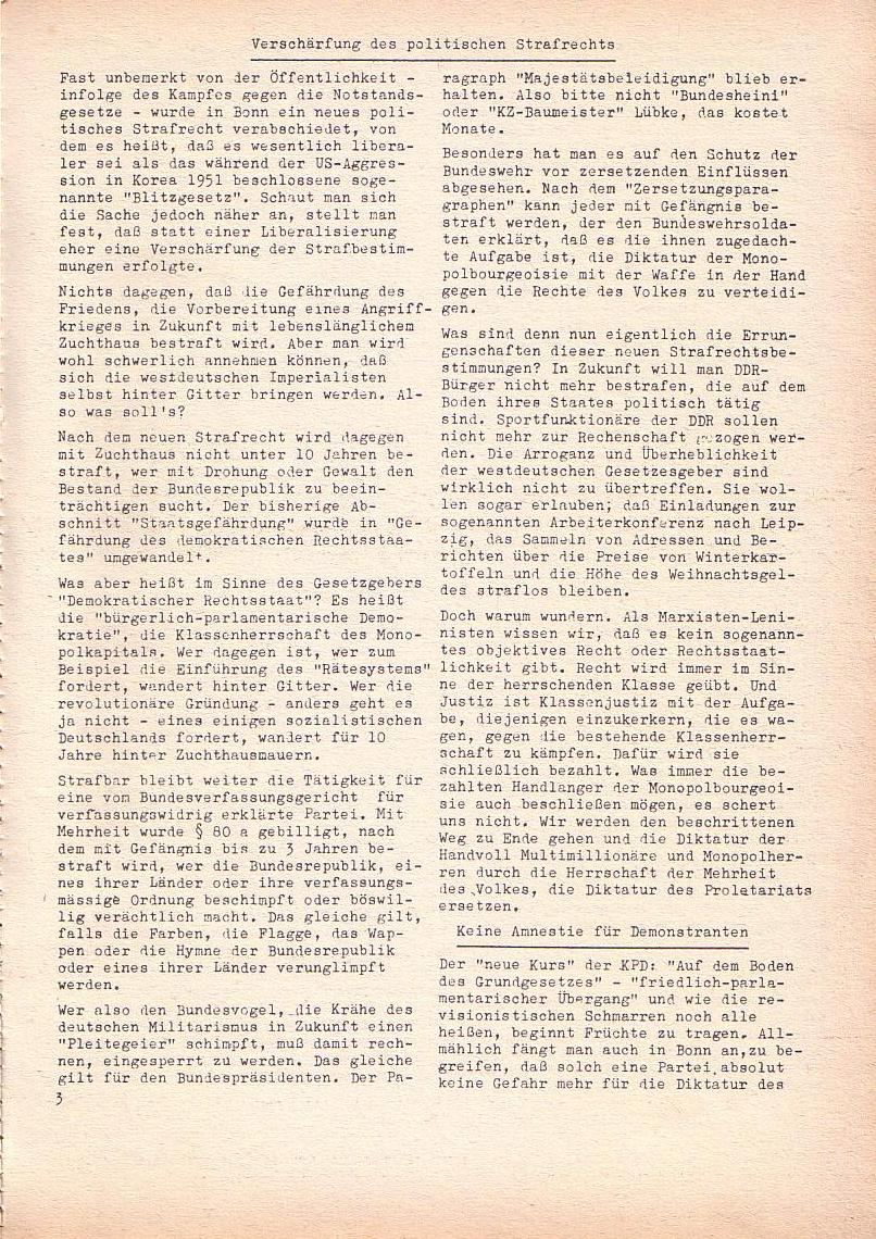 Roter Morgen, 2. Jg., Juli 1968, Seite 3