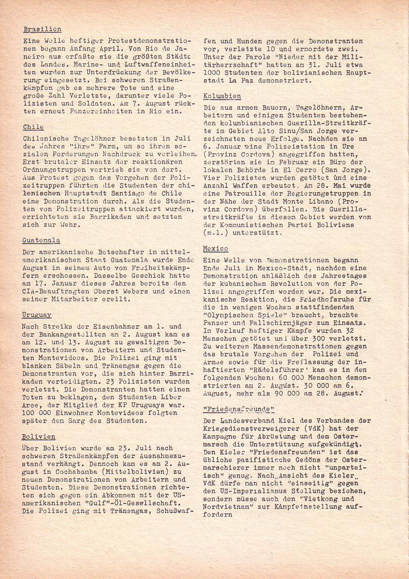 Roter Morgen, 2. Jg., Sept. 1968, Seite 10