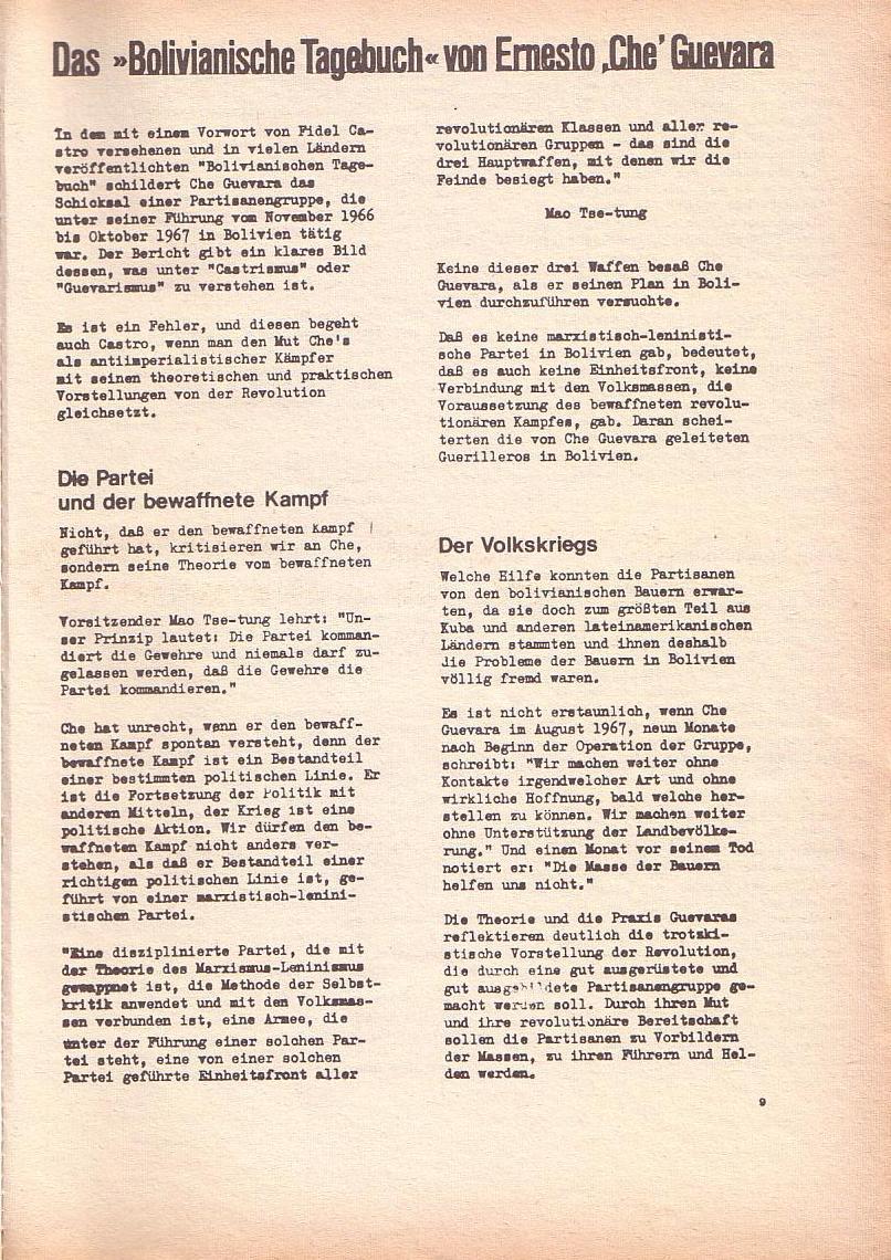 Roter Morgen, 2. Jg., Okt./Nov. 1968, Seite 9