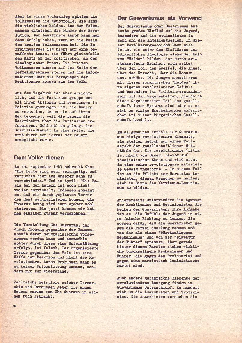 Roter Morgen, 2. Jg., Okt./Nov. 1968, Seite 10
