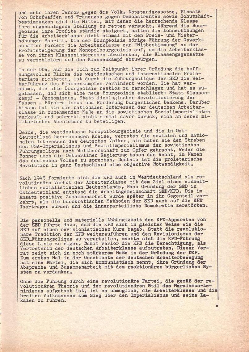 Roter Morgen, 3. Jg., Dez. 68/Jan. 69, Seite 3