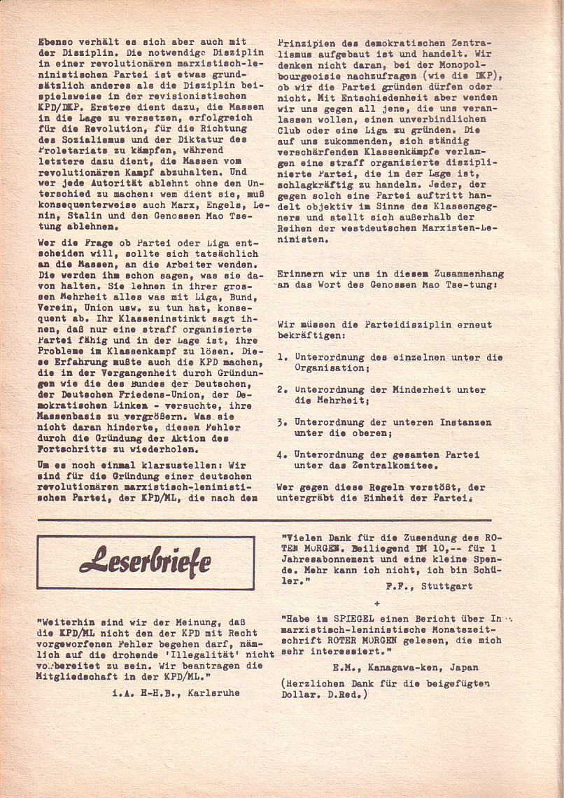 Roter Morgen, 3. Jg., Dez. 68/Jan. 69, Seite 8