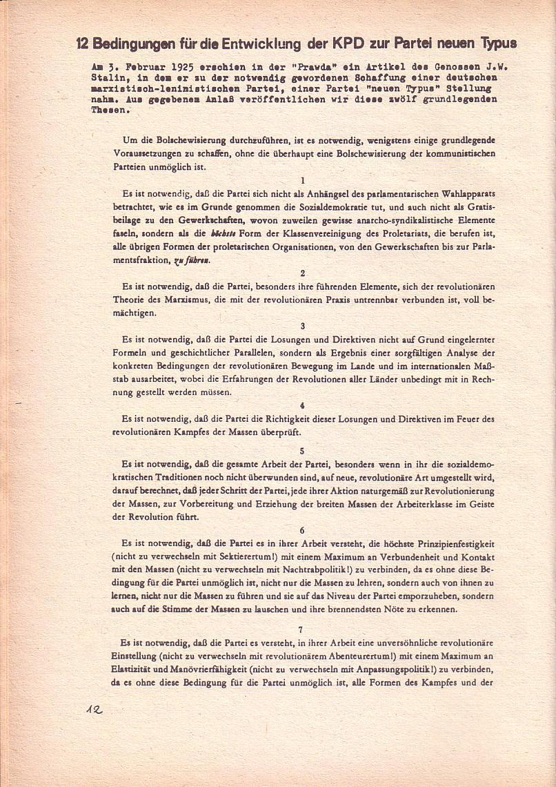 Roter Morgen, 3. Jg., Dez. 68/Jan. 69, Seite 12