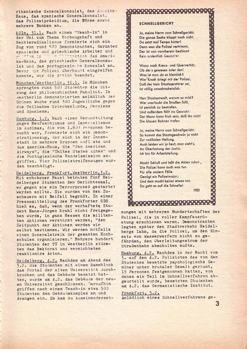 Roter Morgen, 3. Jg., Feb. 1969, Seite 3