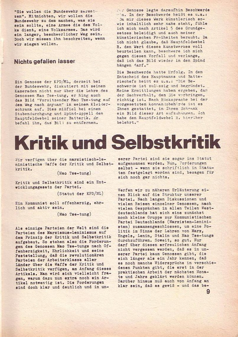 Roter Morgen, 3. Jg., Feb. 1969, Seite 9
