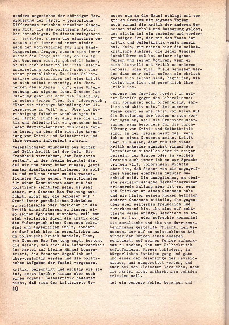 Roter Morgen, 3. Jg., Feb. 1969, Seite 10