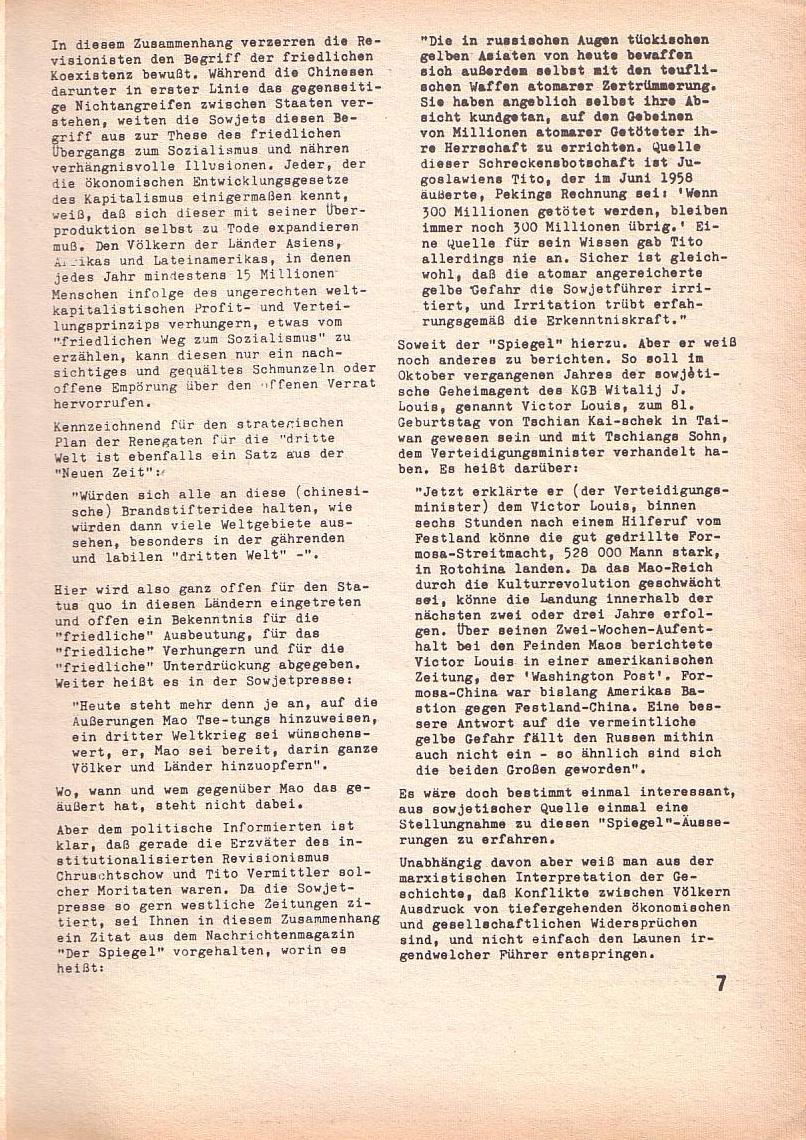 Roter Morgen, 3. Jg., April 1969, Seite 7