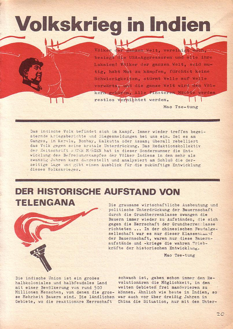 Roter Morgen, 3. Jg., Mai 1969, Seite 5
