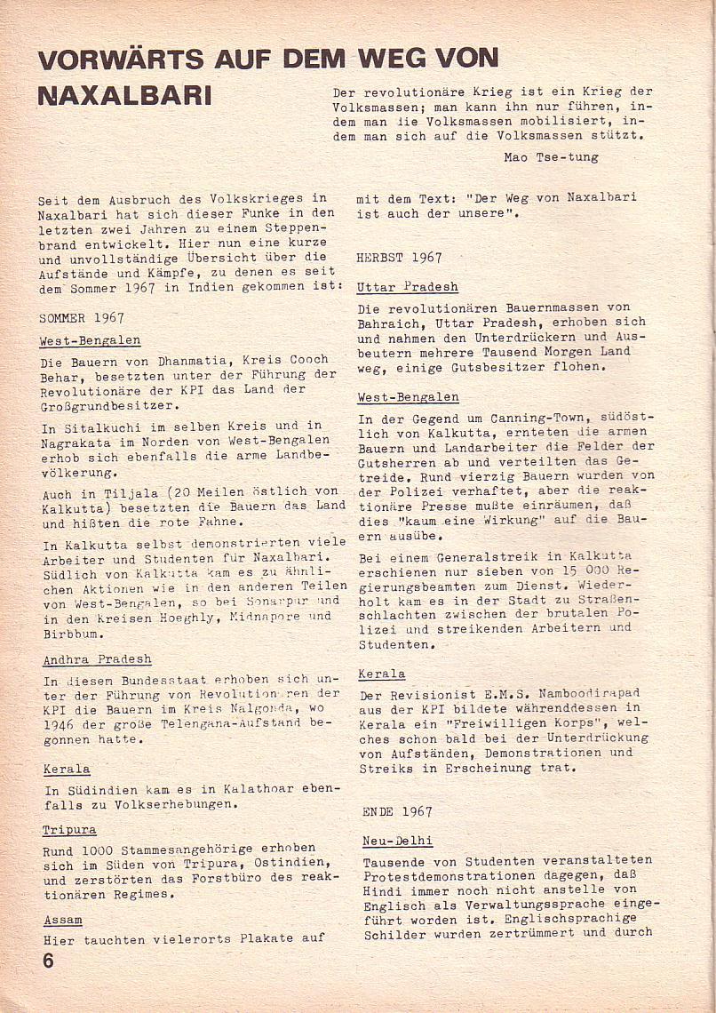 Roter Morgen, 3. Jg., Mai 1969, Seite 10