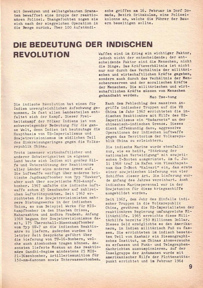 Roter Morgen, 3. Jg., Mai 1969, Seite 13