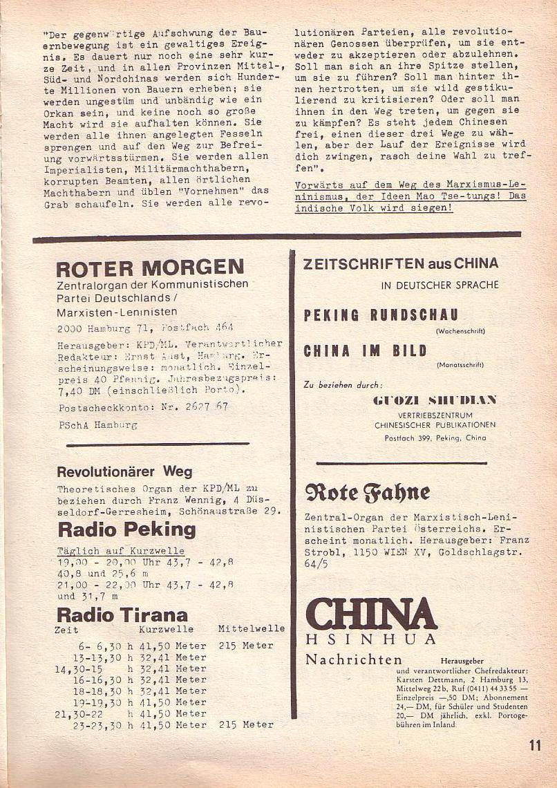 Roter Morgen, 3. Jg., Mai 1969, Seite 15