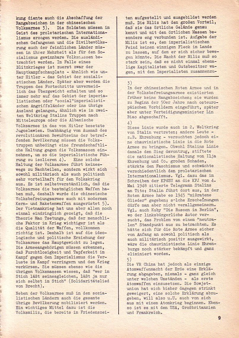 Roter Morgen, 3. Jg., Sept. 1969, Seite 9