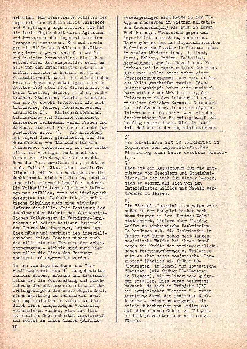 Roter Morgen, 3. Jg., Sept. 1969, Seite 10