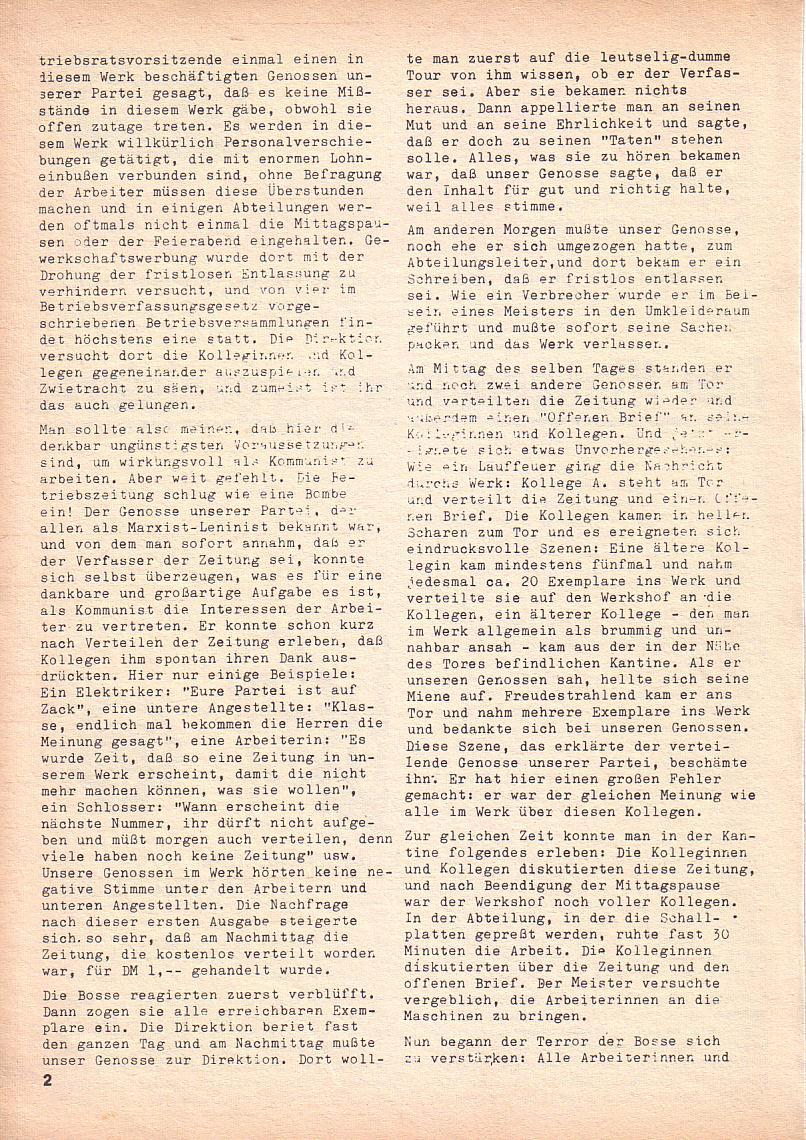 Roter Morgen, 3. Jg., Nov./1. Dez._Ausgabe 1969, Seite 2