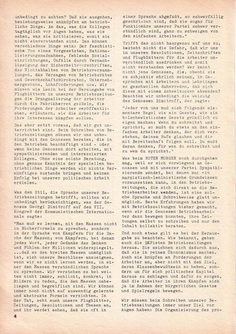 Roter Morgen, 3. Jg., Nov./1. Dez._Ausgabe 1969, Seite 4