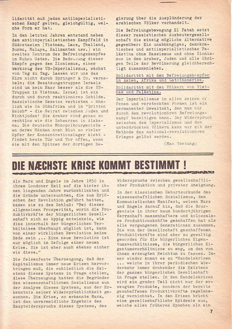 Roter Morgen, 3. Jg., Nov./1. Dez._Ausgabe 1969, Seite 7
