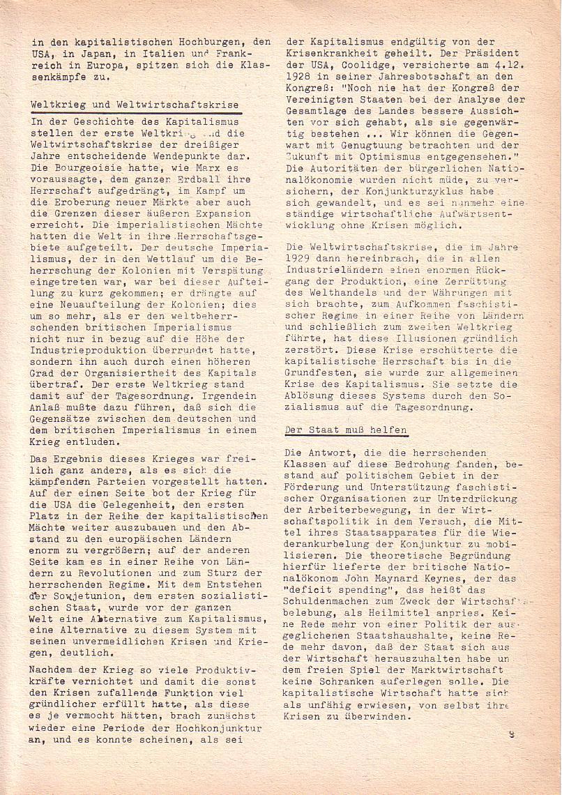 Roter Morgen, 3. Jg., Nov./1. Dez._Ausgabe 1969, Seite 9