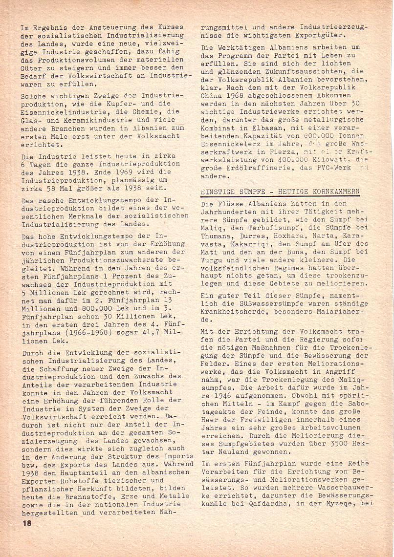 Roter Morgen, 3. Jg., Nov./1. Dez._Ausgabe 1969, Seite 18