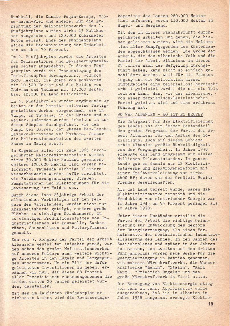 Roter Morgen, 3. Jg., Nov./1. Dez._Ausgabe 1969, Seite 19