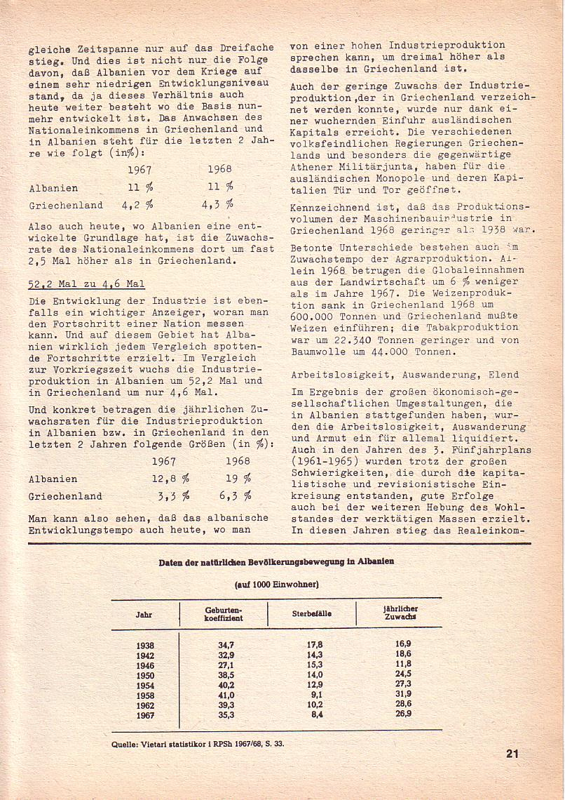 Roter Morgen, 3. Jg., Nov./1. Dez._Ausgabe 1969, Seite 21