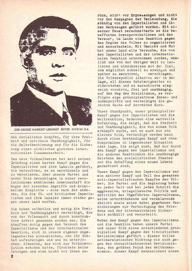 Roter Morgen, 3. Jg., 2. Dez._Ausgabe 1969, Seite 2