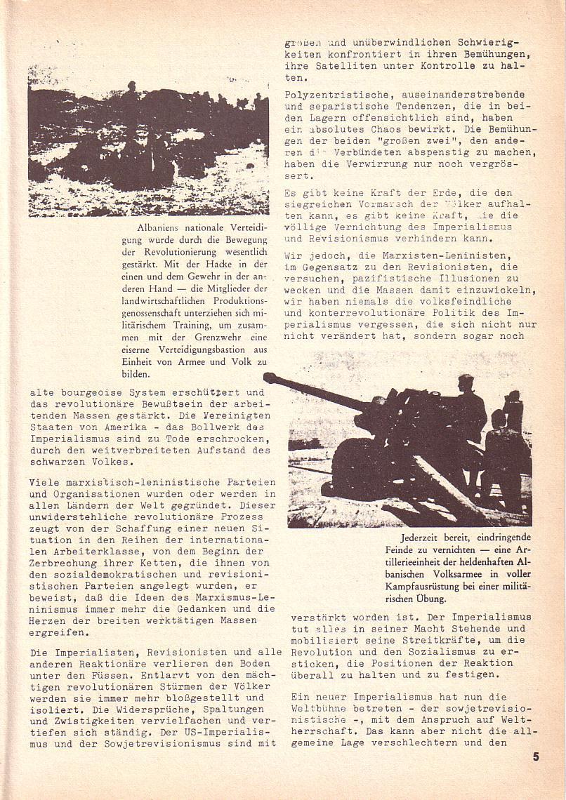 Roter Morgen, 3. Jg., 2. Dez._Ausgabe 1969, Seite 5