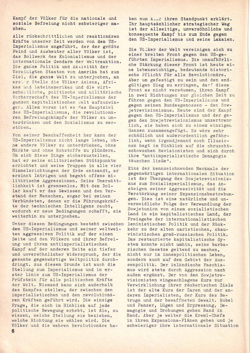 Roter Morgen, 3. Jg., 2. Dez._Ausgabe 1969, Seite 6