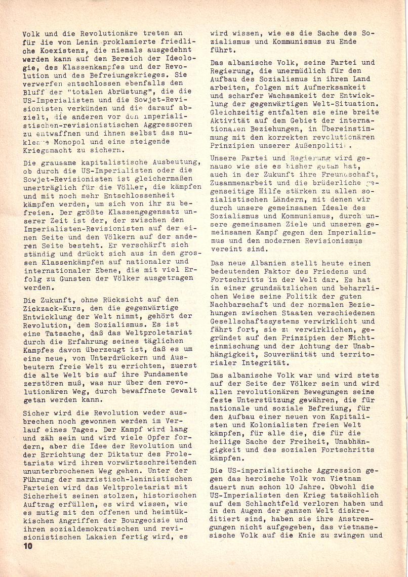 Roter Morgen, 3. Jg., 2. Dez._Ausgabe 1969, Seite 10