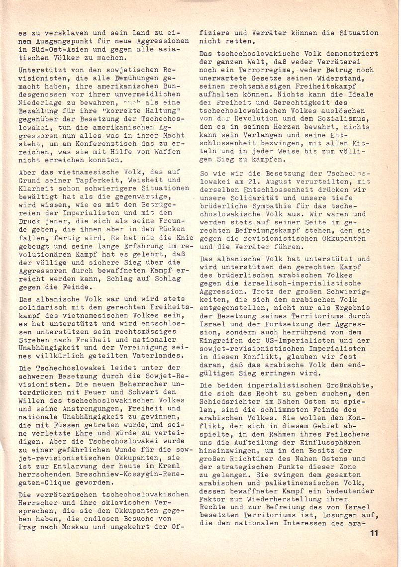 Roter Morgen, 3. Jg., 2. Dez._Ausgabe 1969, Seite 11
