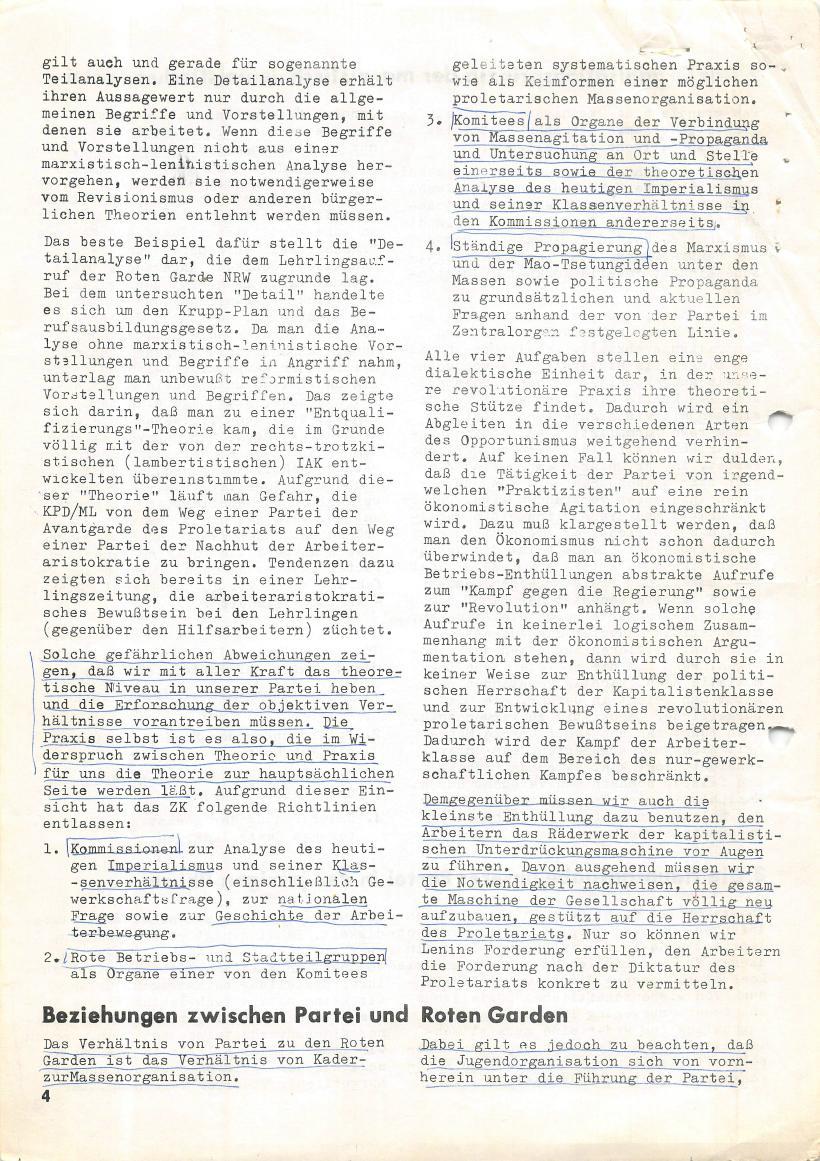 Roter Morgen, 4. Jg., März/April 1970, Seite 4