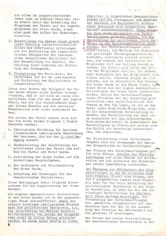 Roter Morgen, 4. Jg., März/April 1970, Seite 6
