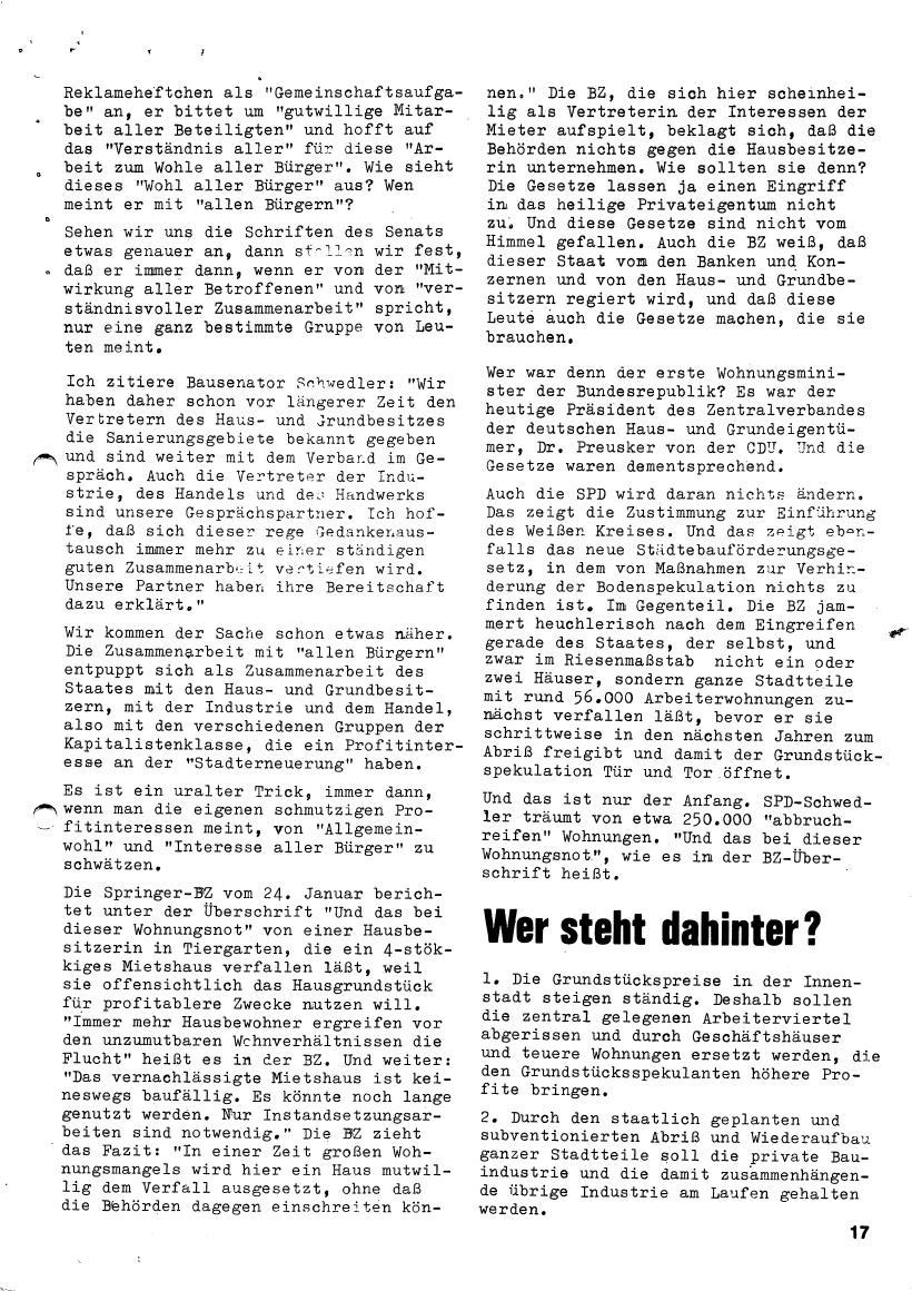 Roter Morgen, 4. Jg., März/April 1970, Seite 17