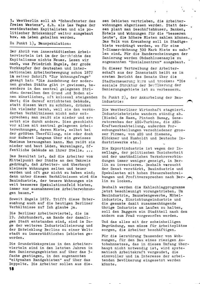 Roter Morgen, 4. Jg., März/April 1970, Seite 18