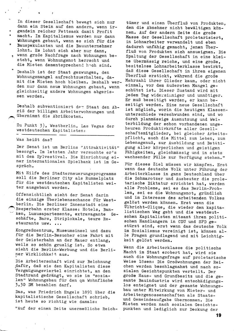 Roter Morgen, 4. Jg., März/April 1970, Seite 19