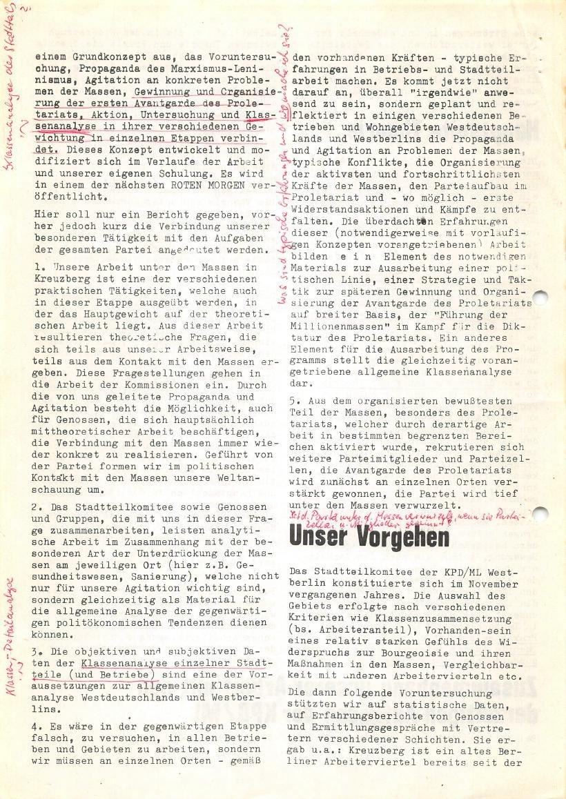 Roter Morgen, 4. Jg., Sonderdruck, März 1970, Seite 4