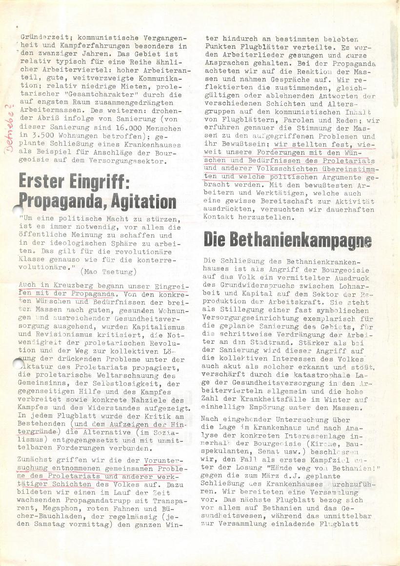 Roter Morgen, 4. Jg., Sonderdruck, März 1970, Seite 5