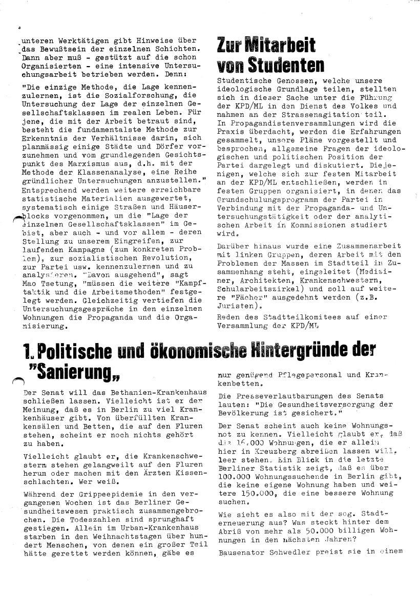 Roter Morgen, 4. Jg., Sonderdruck, März 1970, Seite 7